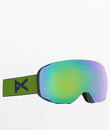 Anon M2 MFI Green & Sonar Green Snowboard Goggles