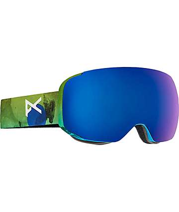 Anon M2 Tatonka Blue Cobalt Snowboard Goggles