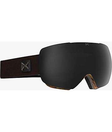 Anon Mig Sheldon Dark Smoke Snowboard Goggles