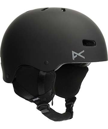 Anon Raider Audio Black Snowboard Helmet