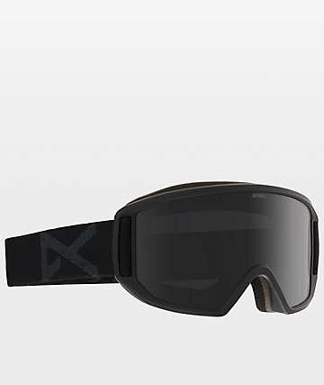 Anon Relapse Black Dark Smoke Snowboard Goggles