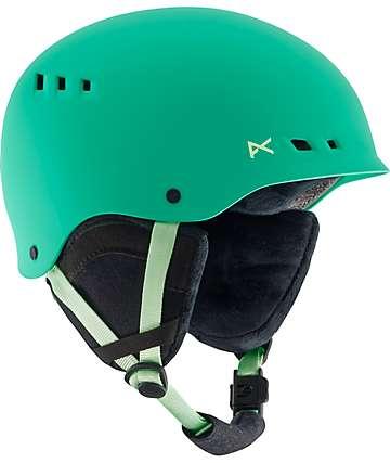 Anon Wren Green Womens Snowboard Helmet