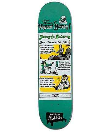 "Anti Hero Allen Vagrant History 8.4"" Skateboard Deck"