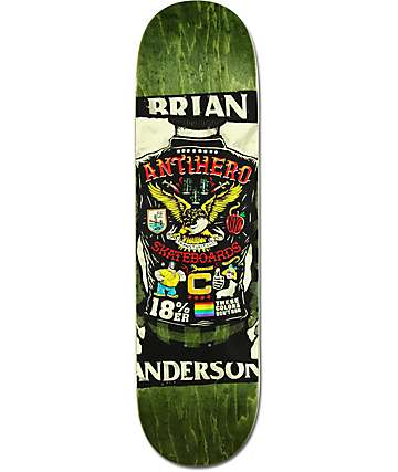 "Anti-Hero BA Flying Colors 8.25"" Skateboard Deck"