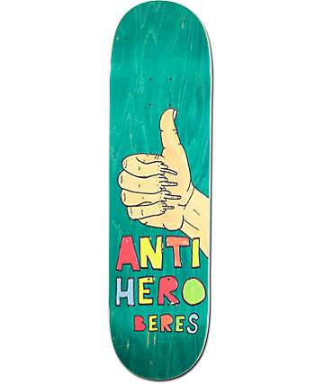 "Anti Hero Beres Porous 2 8.5"" Skateboard Deck"