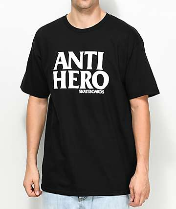 Anti-Hero Black Hero Black T-Shirt