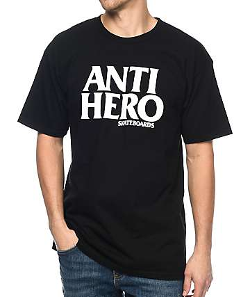 Anti Hero Blackhero Black T-Shirt