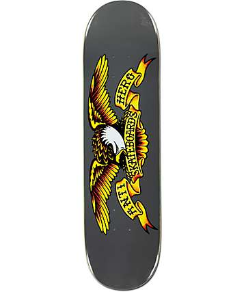 "Anti Hero Classic Eagle Logo 8.25""  Skateboard Deck"