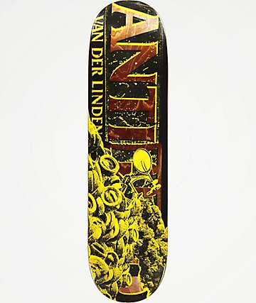 "Anti-Hero Daan Burning Rubber 8.25"" Skateboard Deck"