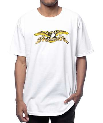 Anti Hero Eagle White T-Shirt