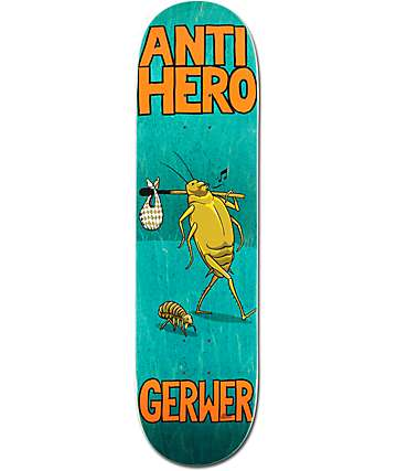 "Anti Hero Gerwer Roaches 8.12""  Skateboard Deck"