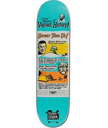"Anti Hero Gerwer Vagrant History 8.12"" Skateboard Deck"