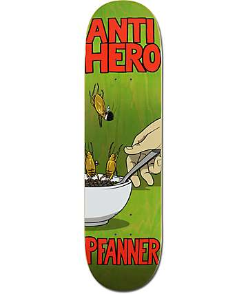 "Anti Hero PFanner Roaches 8.25""  Skateboard Deck"