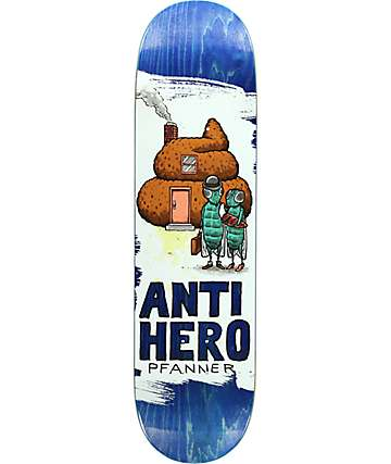 "Anti-Hero Pfanner Its All Shit 8.25"" Skateboard Deck"