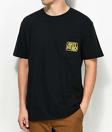 Anti-Hero Reserve Black Pocket T-Shirt