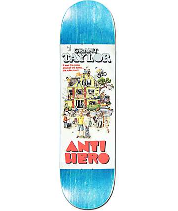 "Anti Hero Taylor Strat House 8.43"" Skateboard Deck"