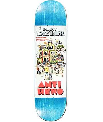 "Anti Hero Taylor Strat House 8.43""  Skateboard Deck"