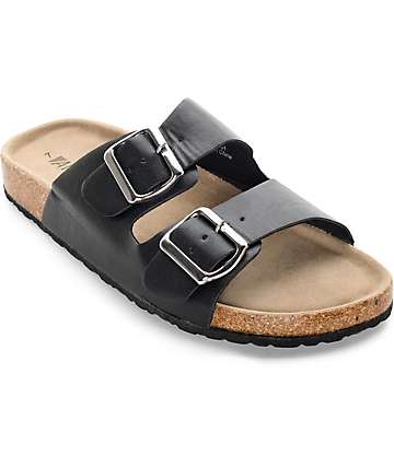 Antic Fremont Black Sandal