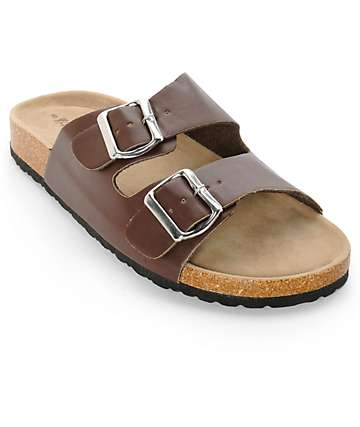 Antic Fremont Brown Sandals