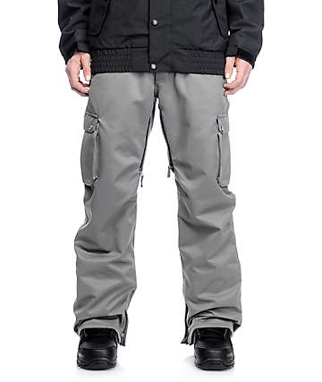 Aperture Alive 10K Charcoal Cargo Snowboard Pants
