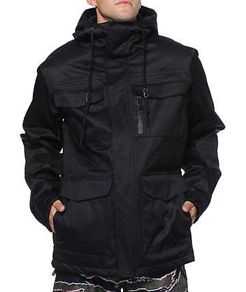 Aperture Alpha M65 10K Black Twill Snowboard Jacket