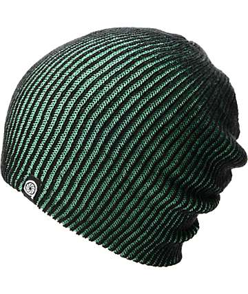 Aperture Avenue Green & Black Beanie