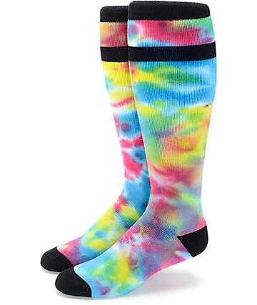Aperture Blastoff Tie Dye Snowboard Socks