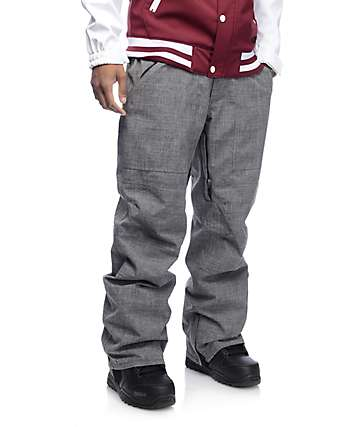 Aperture Boomer 10K pantalon de snowboard en gris