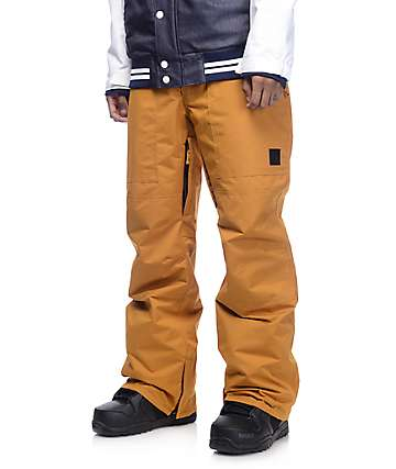 Aperture Boomer 10K pantalon de snowboard en mostaza