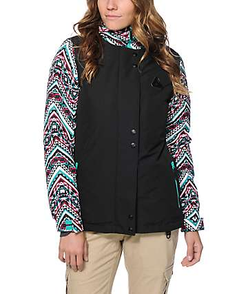 Aperture Cannon Tribal & Black 10K Snowboard Jacket