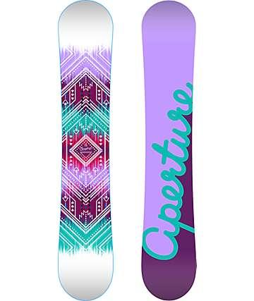 Aperture Cosmo 142cm tabla de snowboard para mujeres