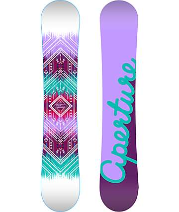 Aperture Cosmo 150cm tabla de snowboard para mujeres