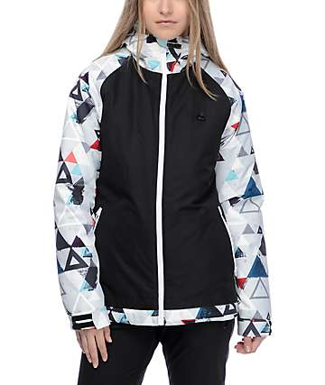 Aperture Creekside chaqueta de snowboard 10K en negro y tribal