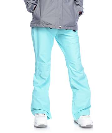 Aperture Crystal Aqua 10K Snowboard Pants
