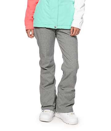Aperture Crystaline Grey 10K Snowboard Pants