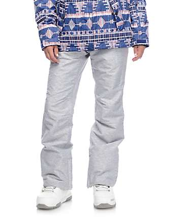 Aperture Crystaline pantalones de snowboard 10K en gris