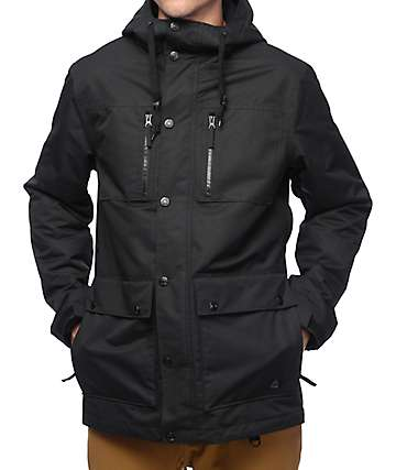 Aperture Defcon M65 10K Black Snowboard Jacket