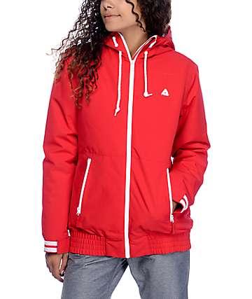 Aperture Harvest chaqueta de snowboard 10K en rojo