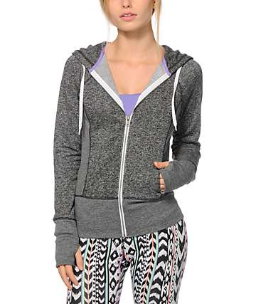 Aperture Horowitz Charcoal Zip Up Hoodie