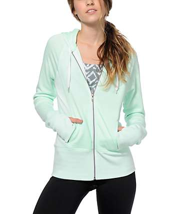 Aperture Horowitz Mint Zip Up Hoodie