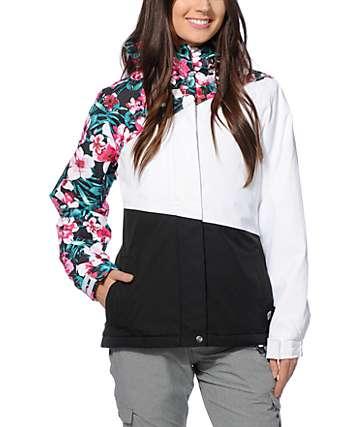 Aperture Pan Face Floral Block 10K Snowboard Jacket