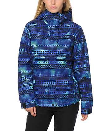 Aperture Pow Pow Galaxy Tribal 10K Snowboard Jacket