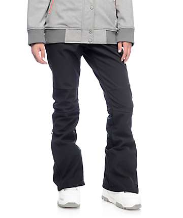 Aperture Riders Black 10K Softshell Snowboard Pants