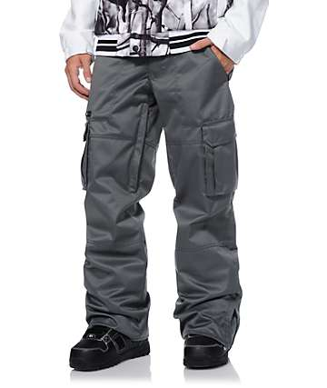 Aperture Sentry Charcoal Cargo 10k Snowboard Pants