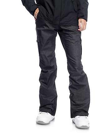 Aperture Verty 10K pantalones de snowboard cargo en negro