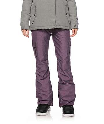 Aperture Verty Blackberry Cargo 10K Snowboard Pants