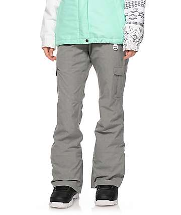 Aperture Verty Charcoal Cargo 10K Snowboard Pants