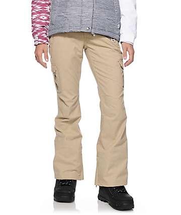 Aperture Verty Khaki Cargo 10K Snowboard Pants