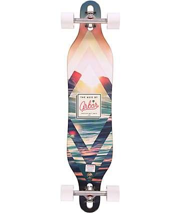 """Arbor Axis Premium 40"""" Longboard Complete"""