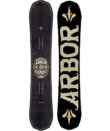 Arbor Black Element 157cm Snowboard